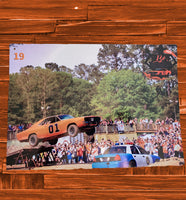 John Jumps the General Lee Tin - JohnSchneiderStudioStore