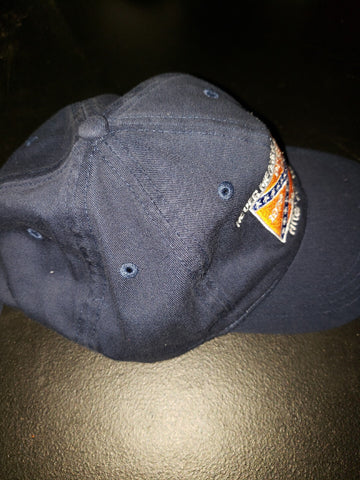 "Dukes 40th anniversary ""Mechanics"" Cap in Blue - JohnSchneiderStudioStore"