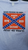 Dukes of Hazzard 40th Anniversary Tee - JohnSchneiderStudioStore