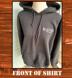 Maven Entertainment Hoodie - JohnSchneiderStudioStore
