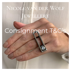 Consignment Terms & Conditions - Nicole van der Wolf Jewellery