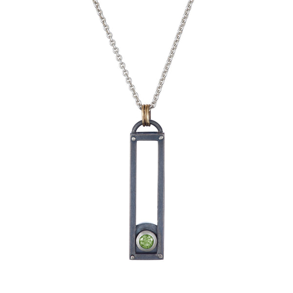 ShipShape Necklace - Peridot