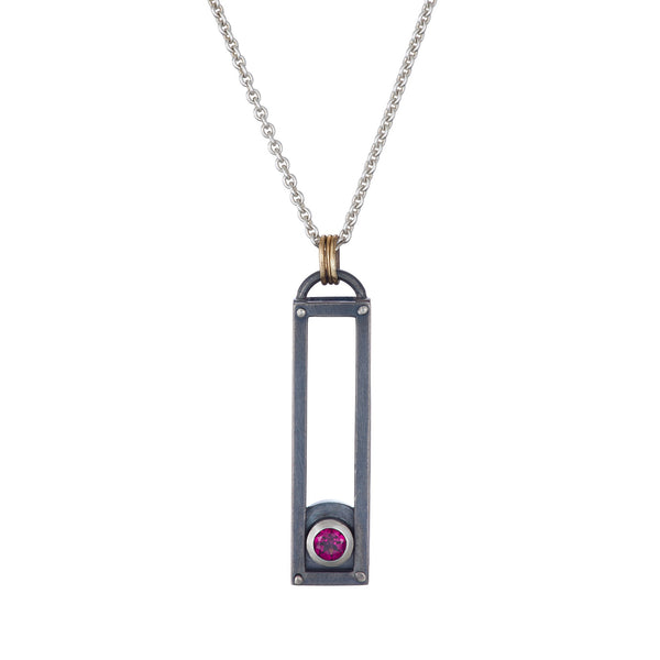 ShipShape Necklace - Garnet