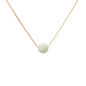Solo Necklace - Green Beryl