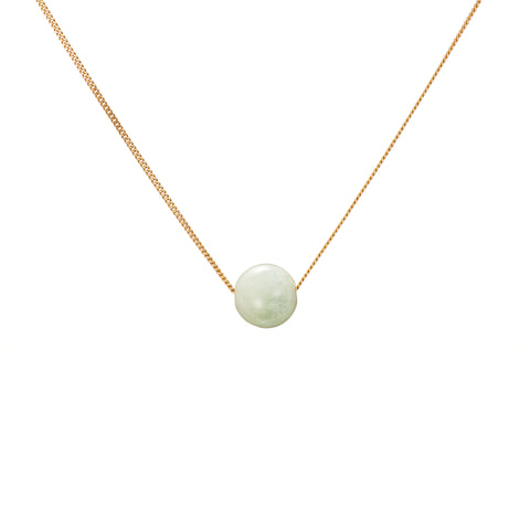 Solo Necklace - Emerald (Green Beryl)