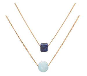 Baltic Blue Layered Necklace Gift Set