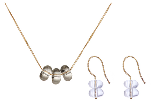Necklace and Earrings Gift Set - Trio