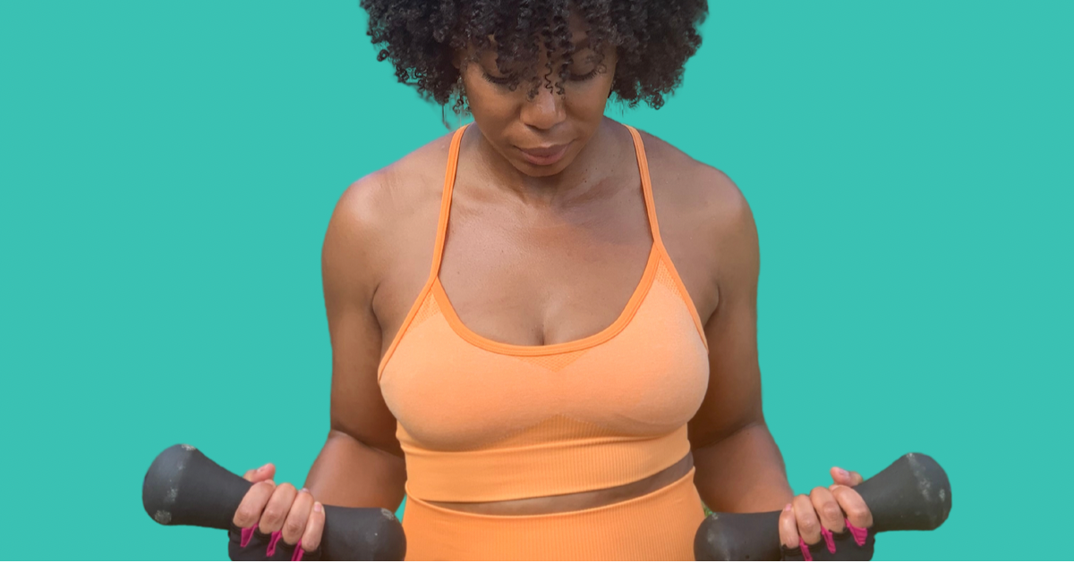 Candera Thompson: Healthy Hair Tips Working Out with Curly Hair | Bask & Bloom Essentials