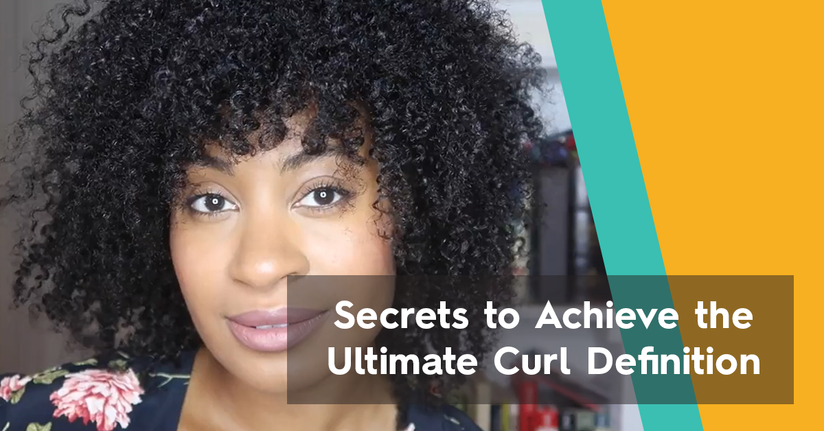 Defined Curly Hair: Secrets to Achieve the Ultimate Curl Definition | Bask & Bloom Essentials