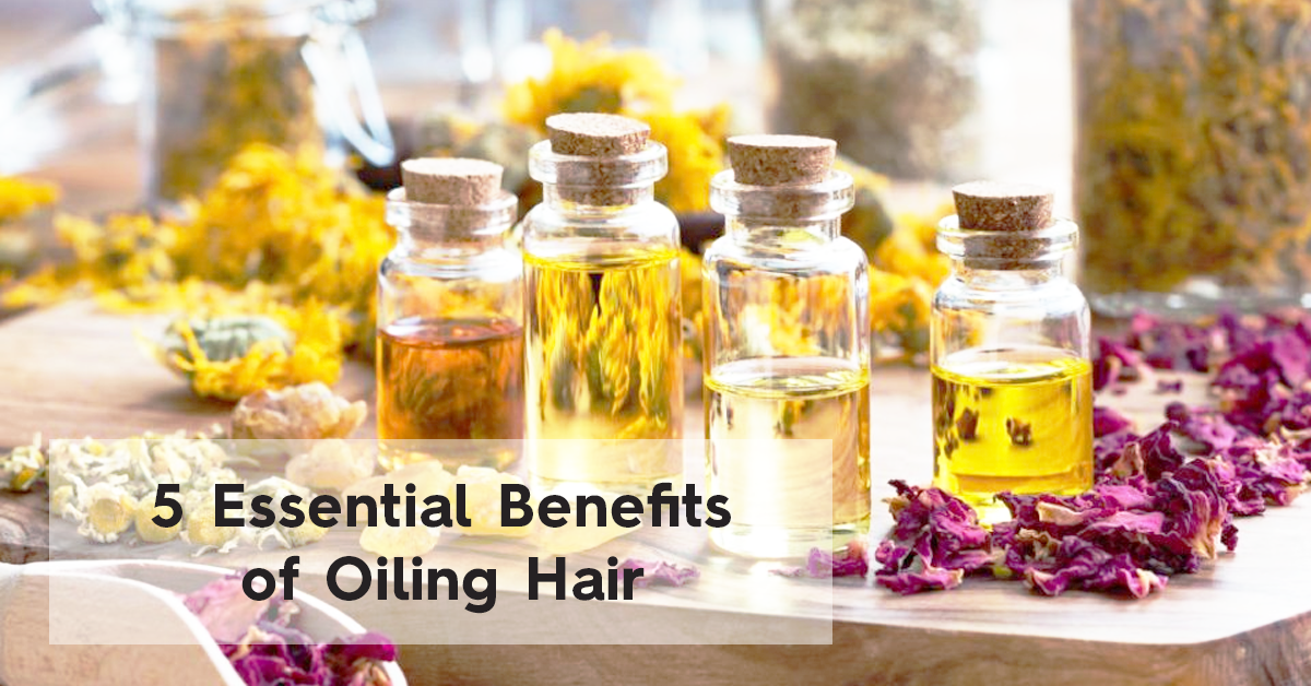 Hair Oils Are Your Friends: Five Benefits of Oiling Hair | Bask & Bloom Essentials