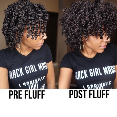 @foxynaturally curl definition using Bask & Bloom products