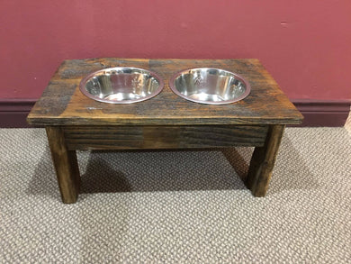 Handcrafted Doggie Dish