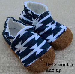 Snow And Arrow Organic Cotton Slippers ~ 2T