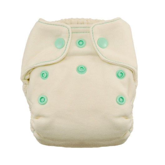 Thirsties Natural Newborn Fitted Diaper Snap