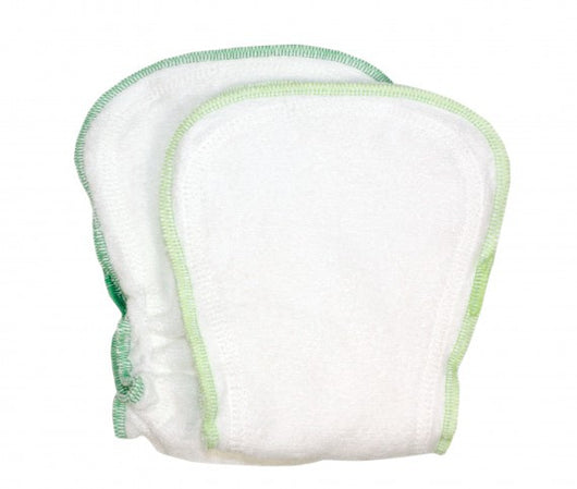 ImseVimse Organic Cotton Diaper Inserts One Size 2pk