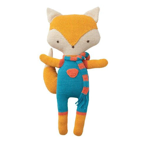 Babylonia Peppa Organic Cotton Cuddly Friends Felix Fox