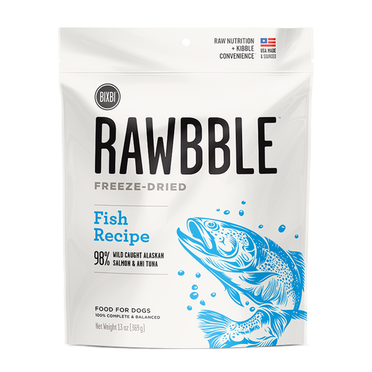 Bixbi Rawbble Freeze-Dried Food ~ Fish