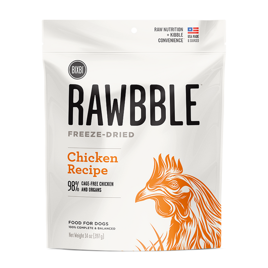 Bixbi Rawbble Freeze-Dried Food ~ Chicken