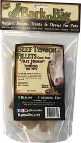 Bark-n-Big Odor-Free USA Beef Tendon Fillets