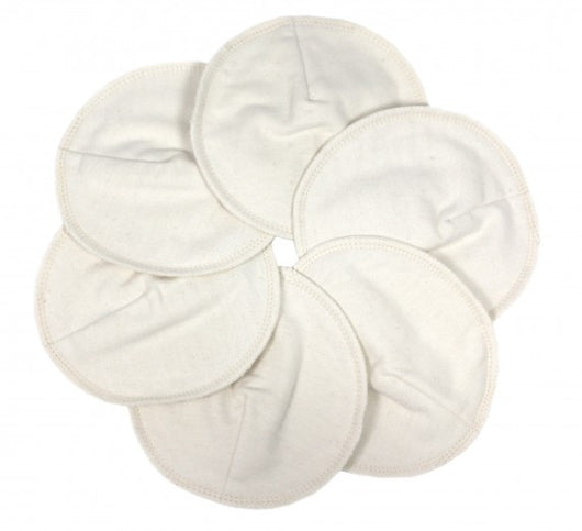 ImseVimse Organic Cotton Nursing Pads 12 cm 6ct