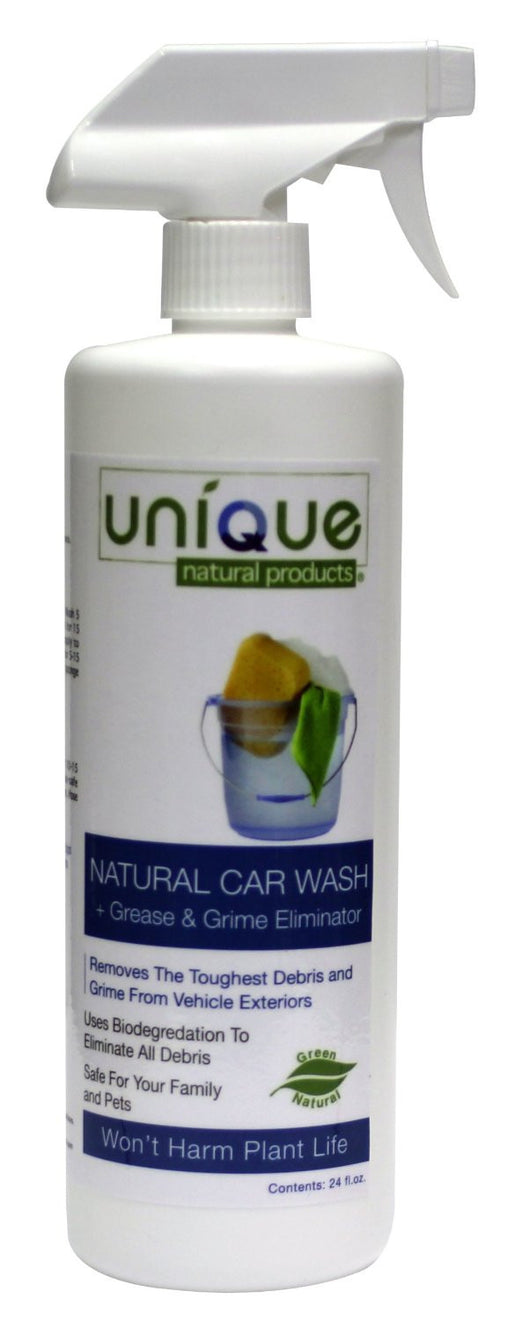 Unique Natural Products Natural Car Wash 24oz