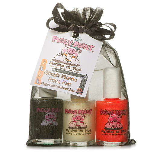Piggy Paint Gift Sets 3pk ~ Ghouls Wanna Have Fun