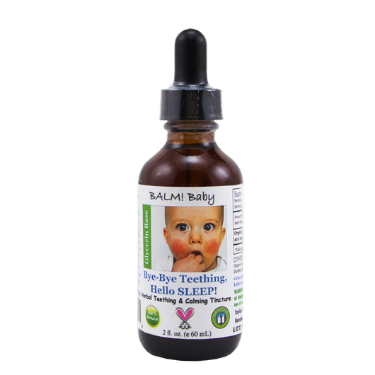 BALM! Baby Bye Bye Teething Hello SLEEP! Teething Tincture 2oz
