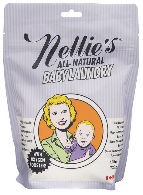 Nellie's All-Natural Baby Laundry 1.6#