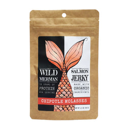 Wild Merman Salmon Jerky ~ Chipotle Molasses