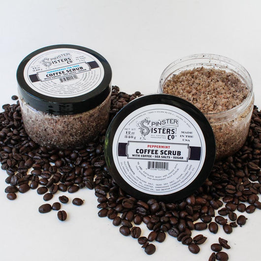 Spinster Sisters Coffee Scrub 12oz