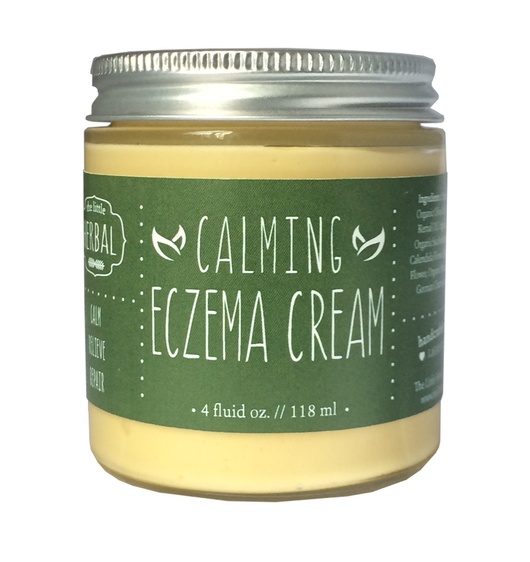 Little Herbal Apothecary Calming Eczema Cream 4oz
