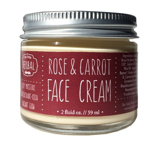 Little Herbal Apothecary Rose & Carrot Face Cream 2oz