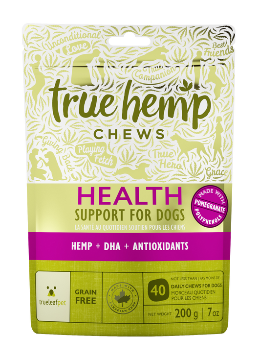 TrueLeafPet True Hemp Chews ~ Health