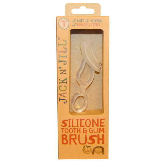 Jack N' Jill Silicone Tooth & Gum Brush Stage 3