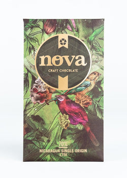Nova Chocolate Direct-Trade Chocolate Bar ~ 70% Nicaragua Single Origin