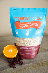 Mommy Moosli ~ Organic Cranberry + Orange Moosli