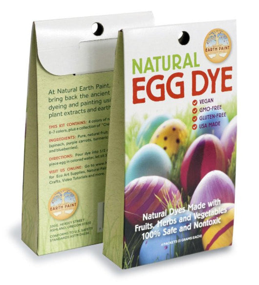 Earth Paint Natural Egg Dye Kit