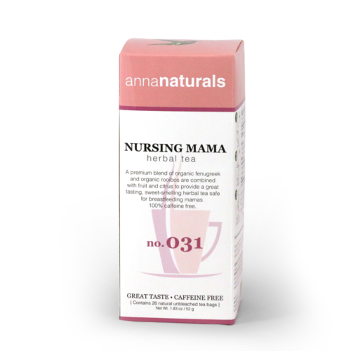 Anna Naturals Nursing Mama Herbal Tea Bags 26ct