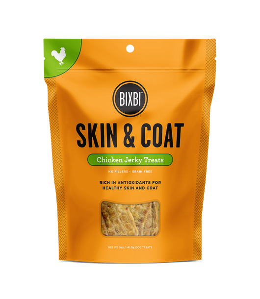 Bixbi Treats Skin & Coat Jerky