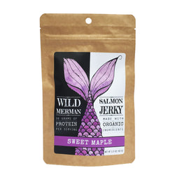 Wild Merman Salmon Jerky ~ Sweet Maple