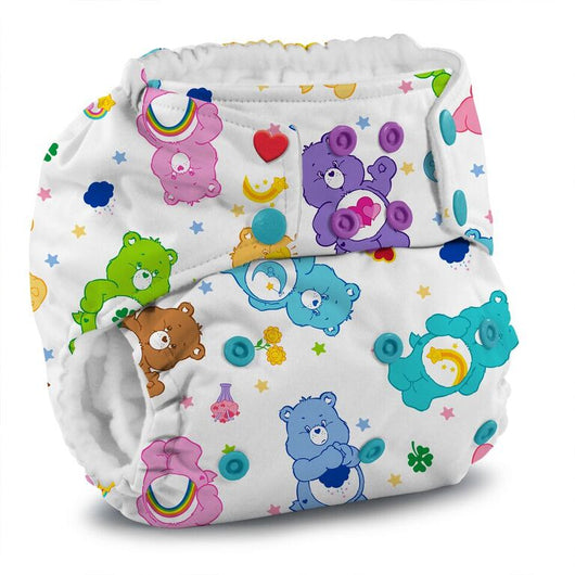 KangaCare Rumparooz One Size Pocket Cloth Diaper Snap ~ Care Bears
