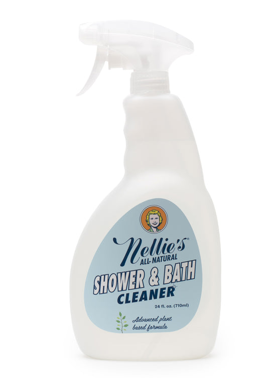 Nellie's All-Natural Shower & Bath Cleaner 24oz