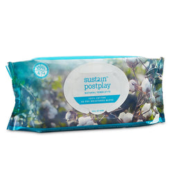 Sustain Postplay Natural Towelette Wipes 48ct