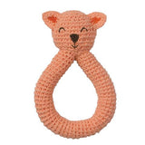 Babylonia Peppa Organic Cotton Crochet Rattle