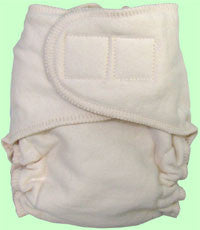 Loveybums Organic Cotton Fitted Diaper