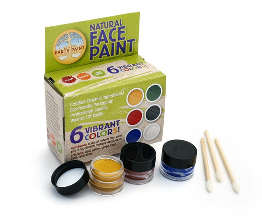 Earth Paint Natural Face Paint Kit - 6 Colors