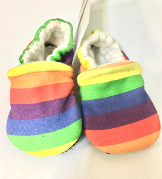 Snow And Arrow Organic Cotton Slippers ~ 3-6 Months
