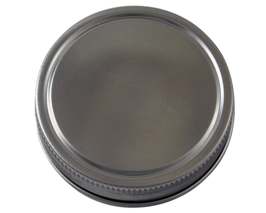Mason Jar Lifestyle Stainless Steel Storage Lid