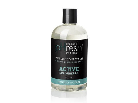Honestly pHresh Three-In-One Wash for Men