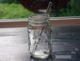 Mason Jar Lifestyle Glass Straws ~ Thick